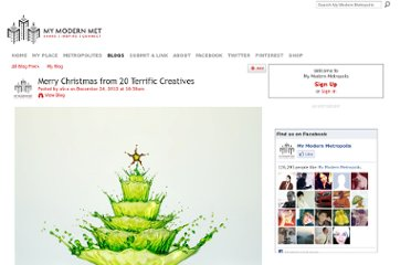 http://www.mymodernmet.com/profiles/blogs/merry-christmas-from-creatives