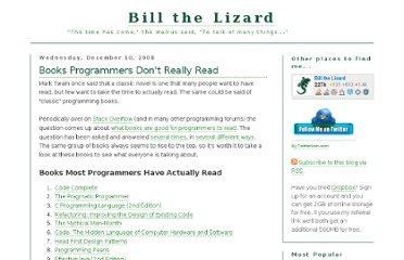 http://www.billthelizard.com/2008/12/books-programmers-dont-really-read.html