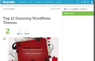 http://mashable.com/2008/09/19/top-wordpress-themes/