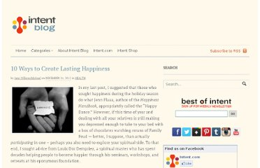 http://intentblog.com/10-ways-to-create-lasting-happiness/