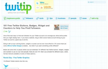 http://www.twitip.com/181-twitter-buttons-badges-widget-and-counters-to-help-you-find-followers/