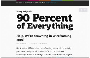 http://www.90percentofeverything.com/2009/09/16/help-were-drowing-in-wireframing-apps/