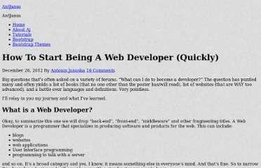 http://antjanus.com/blog/web-design-tips/how-start-being-a-web-developer/