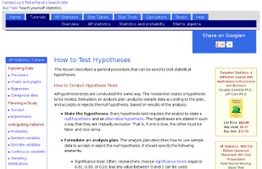 http://stattrek.com/hypothesis-test/how-to-test-hypothesis.aspx