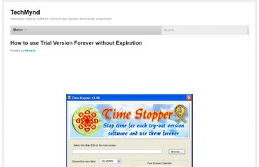http://www.techmynd.com/how-to-use-trial-version-forever-without-expiration/