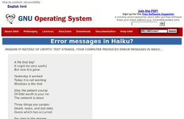 http://www.gnu.org/fun/jokes/error-haiku.html