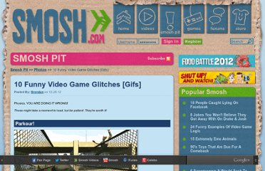 http://www.smosh.com/smosh-pit/photos/10-funny-video-game-glitches-gifs