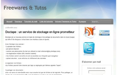 http://freewares-tutos.blogspot.com/2012/12/doctape-un-service-de-stockage-en-ligne.html