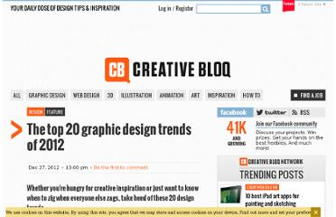 http://www.creativebloq.com/top-20-graphic-design-trends-2012-1212327