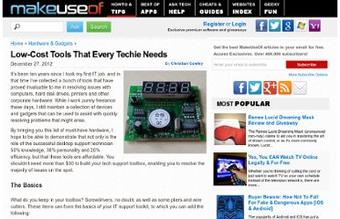 http://www.makeuseof.com/tag/low-cost-tools-that-every-techie-needs/