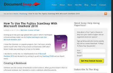 http://www.documentsnap.com/how-to-use-the-fujitsu-scansnap-with-microsoft-onenote-2010/