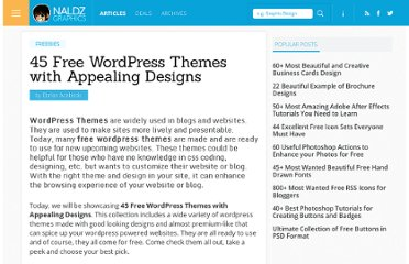 http://naldzgraphics.net/freebies/45-free-wordpress-themes-with-appealing-designs/