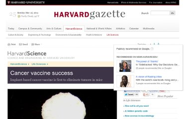 http://news.harvard.edu/gazette/story/2009/11/cancer-vaccine-success/