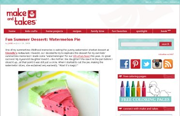 http://www.makeandtakes.com/fun-summer-dessert-watermelon-pie
