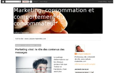 http://culture-materielle.blogspot.com/2012/12/marketing-viral-le-role-des-contenus.html