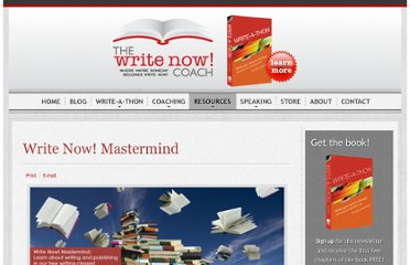 http://www.writenowcoach.com/resources/write-now-mastermind.html