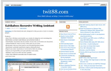 http://twit88.com/blog/2010/05/29/kabikaboo-recursive-writing-assistant/