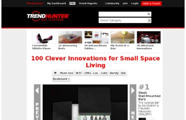 http://www.trendhunter.com/slideshow/clever-innovations-for-small-space-living#10