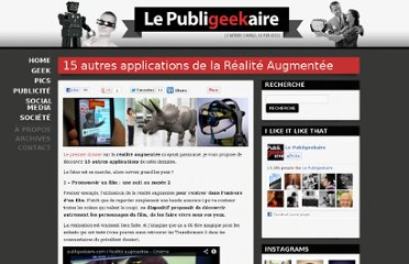 http://publigeekaire.com/2009/07/15-autres-applications-de-la-realite-augmentee-augmented-reality/