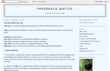 http://pbackwriter.blogspot.com/2007/09/novel-outlining-101.html