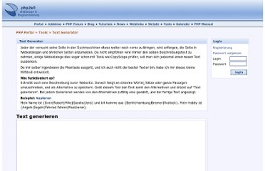 http://www.php2all.de/text-generator.html