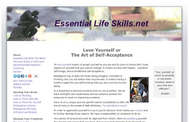 http://www.essentiallifeskills.net/loveyourself.html