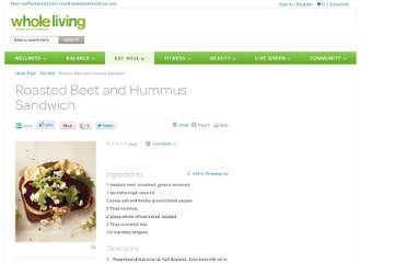 http://www.wholeliving.com/182942/roasted-beet-and-hummus-sandwich