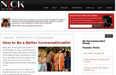 http://www.thedatingspecialist.com/blog/how-to-be-a-better-conversationalist/