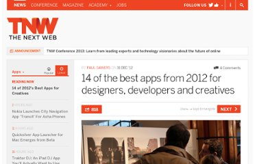 http://thenextweb.com/apps/2012/12/31/14-of-2012s-best-apps-for-designers-developers-and-creatives/