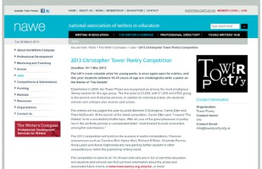 http://www.nawe.co.uk/DB/jobs-and-opportunities/2013-christopher-tower-poetry-competition.html