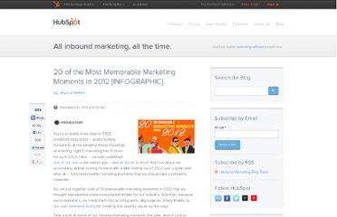 http://blog.hubspot.com/blog/tabid/6307/bid/33896/20-of-the-Most-Memorable-Marketing-Moments-in-2012-INFOGRAPHIC.aspx