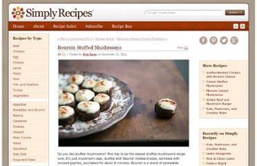 http://www.simplyrecipes.com/recipes/boursin_stuffed_mushrooms/
