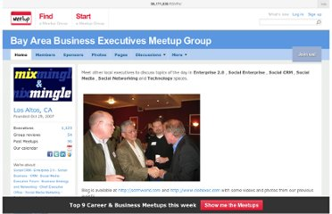 http://www.meetup.com/BayAreaExecutives/