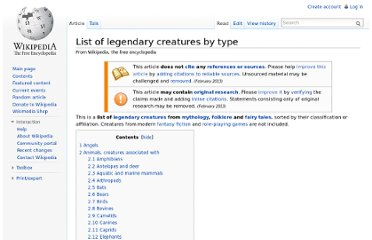 http://en.wikipedia.org/wiki/List_of_legendary_creatures_by_type#Bovines