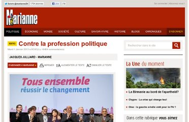 http://www.marianne.net/Contre-la-profession-politique_a225333.html