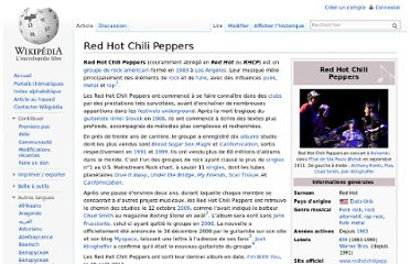 http://fr.wikipedia.org/wiki/Red_Hot_Chili_Peppers