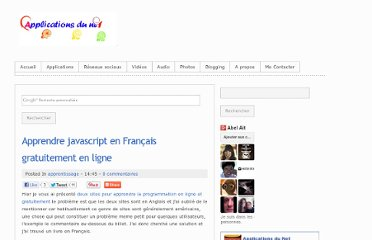 http://www.applicanet.com/2013/01/apprendre-javascript-francais-gratuit.html