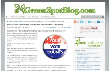 http://blog.ecomarketingsolutions.com/2012/10/16/how-green-marketing-is-like-the-presidential-elections/