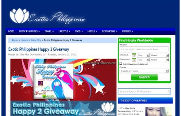 http://www.exoticphilippines.info/2013/01/exotic-philippines-happy-2-giveaway.html