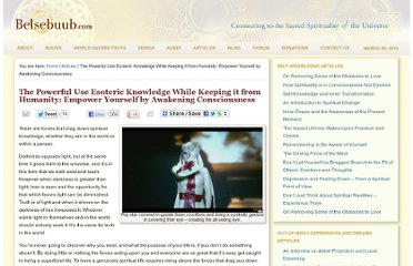 http://belsebuub.com/articles/the-powerful-use-esoteric-knowledge-while-keeping-it-from-humanity