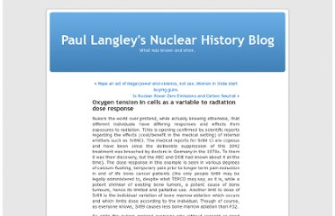 http://nuclearhistory.wordpress.com/2013/01/02/oxygen-tension-in-cells-as-a-variable-to-radiation-dose-response/