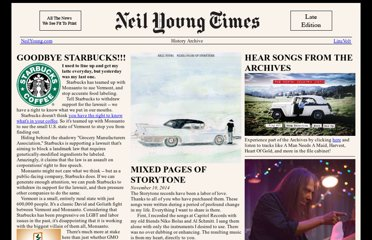 http://neilyoung.com/news/index.html