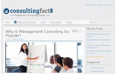 http://www.consultingfact.com/blog/why-is-management-consulting-so-popular/
