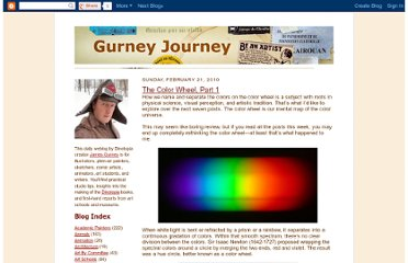 http://gurneyjourney.blogspot.com/2010/02/color-wheel-part-1.html