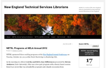 https://netsl.wordpress.com/2012/10/14/nelacon2012/