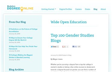 http://www.bachelorsdegreeonline.com/blog/2009/top-100-gender-studies-blog/