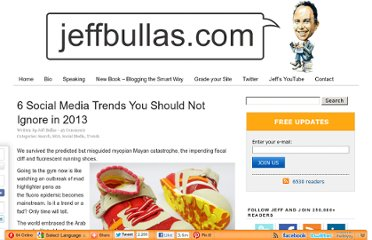 http://www.jeffbullas.com/2013/01/03/6-social-media-trends-you-should-not-ignore-in-2013/