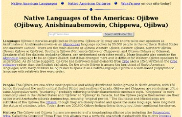 http://www.native-languages.org/ojibwe.htm