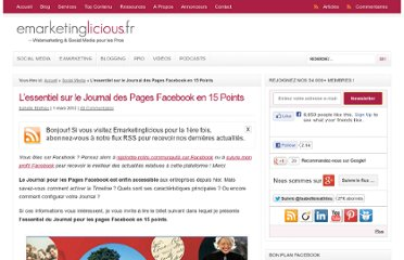 http://www.emarketinglicious.fr/social-media/essentiel-journal-pages-facebook-15-points