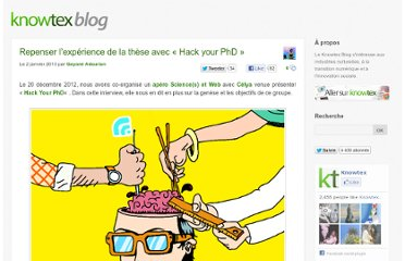 http://www.knowtex.com/blog/repenser-lexperience-de-la-these-avec-hack-your-phd/